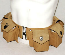 WWII US ARMY PARATROOPER INFANTRY BAR EQUIPMENT BELT -31776