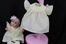 """GOING OUT OF BUSINESS SALE---DRESS FOR 5-1/2""""--6"""" OOAK DOLL YELLOW"""