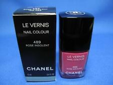 CHANEL LE VERNIS NAIL POLISH  COLOUR 489 ROSE INSOLENT NEW IN BOX