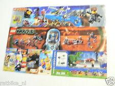 LEGO BROCHURE FLYER CATALOG TOYS 2000 MARS DUTCH 2 PAGES 037