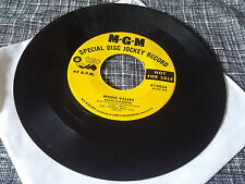 """Marge & Helene 45 Magic Valley/The """"A"""" Triangle MGM Promo 12036 Girl Group Teen"""