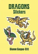 DRAGON STICKERS - NEW PAPERBACK BOOK
