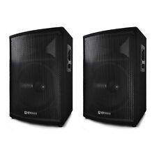 """QTX QT8 passiva DISCOTECA DJ ALTOPARLANTE 300W 8 """"Sound System PA COPPIA"""