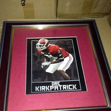 "ALABAMA CRIMSON TIDE FRAMED ART PICTURE "" Dre Kirkpatrick "" New Print"