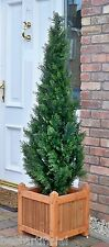 Best Artificial 5ft 150cm Topiary Cedar Outdoor Tree alt Boxwood Spiral Ball Bay