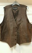 MENS 1 XL WILSONS LEATHER VEST