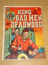 KING OF THE BAD MEN OF DEADWOOD #1 VG (4.0) AVON COMICS 1950