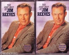 JIM REEVES Very Best  2 Cassette Heartland Collectors Anthology HE'LL HAVE TO GO
