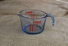 Pyrex Messbecher 1 Liter  Pints Rührschüssel Glas, blau, neuwertig