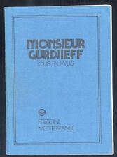 Louis Pauwels Monsieur Gurdjieff  Reprint Mediterranee  R