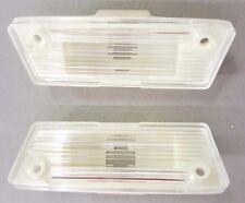 1974-1978 FIREBIRD TRANS AM REAR LICENSE PLATE LIGHT ASSEMBLY SET NEW!