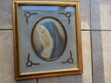 Vintage Turner Wall Accessory, Blessed Virgin Mary Madonna 3D framed print 17X15