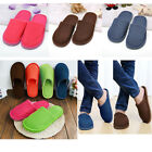 Women Lady Men Lovers Anti slip Slippers Indoor House Soft Warm Winter Cotton