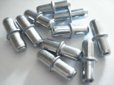 20 SHELF SUPPORT PINS STUDS PEG STEEL FOR 5MM HOLE - C00961