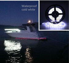 Boat Accent Light WaterProof LED Lighting Strip RV SMD 300 LEDs 16ft Cold white