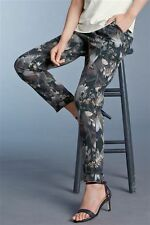 Next Tailored Floral Tapered Trousers 10T