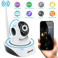 Wireless HD 1080P 2MP Camera P2P Pan Tilt IR Cut WiFi Network IP Webcam TF W-EU