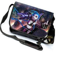 League of Legends LOL Jinx Game Messenger Bag Shoulder bag Laptop Satchel