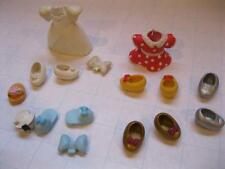 Walt Disney World PARKS MINNIE MOUSE POLLY POCKET CLOTHES SHOES Replacement LOT