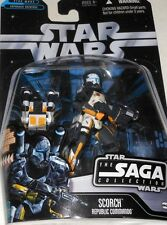 "Hasbro  STAR  WARS  SCORCH  REPUBLIC  COMMANDO  yr.2006  33/4"" Action  Figure."