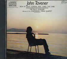 CD album: John Tavener: Ikon of Light- Funerl Ikos- Carol the Lamb. Gimell . I