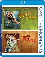 ROMANCING THE STONE + JEWEL OF THE NILE New Sealed Blu-ray Double Feature