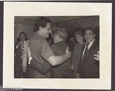 VINTAGE PRESS PHOTO / GOV. RAFAEL HERNANDEZ COLON / PUERTO RICO / 1980's / #14