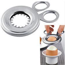 Stainless Steel Boiled Egg Shell Topper Scissors Cutter Clipper Kitchen Gadget