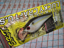 "LUCKY CRAFT U.S.A. S.K.T. SERIES SKT MR PEARL THREADFIN SHAD 2-1/2""60mm FLOATING"