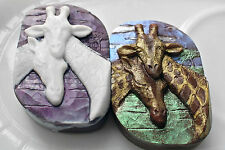 GIRAFFE - SILICONE SOAP MOLD -  SOAP BAR MOULD PLASTER CANDLE CLAY WAX