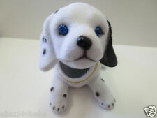 Puppy Dog/ Beagle Dog / Bobbing / White with Black Dot/ Bobble Head Doll / Toy