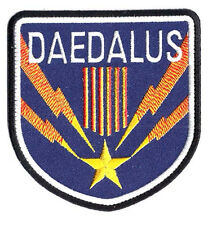 "Stargate SG-1 Daedalus Screen Accurate Uniform 4"" Patch- FREE S&H (SGPA-42)"