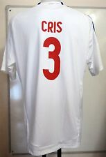 "OLYMPIC LYON 2010/11 ""CRIS 3"" HOME SHIRT BY ADIDAS ADULTS SIZE LARGE BRAND NEW"
