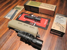"Magpul & Surefire Remington 870 Forend G2X Flashlight Mount w 5"" Rail FDE"