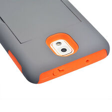 For Samsung Galaxy Note 3 Armor Hybrid Shockproof Rugged Rubber Hard Case Cover