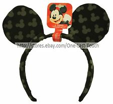 DISNEY Ears Headband MICKEY MOUSE The Great Pretendears BLACK+GRAY Accessories