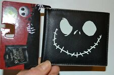 Nightmare Before Christmas Jack Skellington Faux Leather Glow in the Dark Wallet