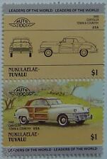1948 CHRYSLER TOWN & COUNTRY Car Stamps (Leaders of the World / Auto 100)