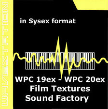 sysex sound for Korg Wavestation of the WPC-19 ex WPC-20 film textures & factory
