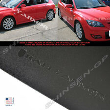 RALLY ARMOR BASIC MUD FLAPS FOR 2004-2009 MAZDA3 MAZDASPEED3 w/ BLACK LOGO