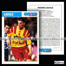 LAIGLE PIERRE (RC RACING CLUB DE LENS) - Fiche Football 1994