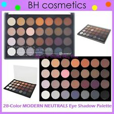 NEW BH Cosmetics 28-Color MODERN NEUTRALS Matte Eye Shadow Palette FREE SHIPPING