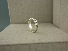 Sterling Silver Irish Ogham Ring Soulmate Soul Mate Made in Ireland Size 11