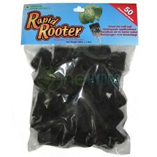 Rapid Rooter Natural Plant Starter 50 Plugs Hydroponics Organic Clones Seeds GH