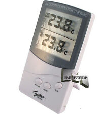 TERMOMETRO IGROMETRO DIGITALE LCD TEMPERATURA INTERNO ESTERNO CASA TA338 mshop