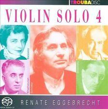 Violin Solo Vol.4: a Paganini, New Music