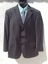 "Suberb Recent ZEGNA Superfine Wool Pinstripe Jacket/Blazer Chest 42"" Hardly Worn"