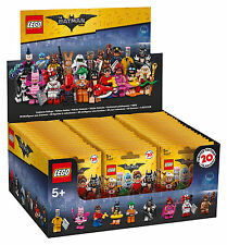 LEGO® BATMAN MOVIE Minifiguren 71017  Komplettes  Display versiegelt  60 Tüten