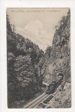 Hoellental i bad Schwarzwald Am Hirschsprungtunnel Germany Vintage Postcard 553a