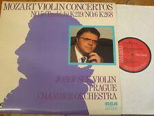 LRL1 5089 Mozart Violin Concertos Nos. 5 & 6 / Suk